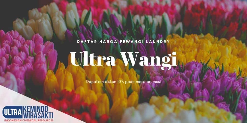 Harga Pewangi Laundry PT Ultrawangi Mandiri Sejahtera